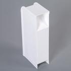 Органайзер 4-х секционный, 9,2×5×20,5 см, цвет белый - Фото 3