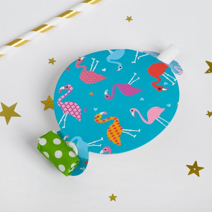 Карнавальный язычок Фламинго, набор 6 шт.