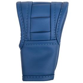 Чехол рычага АКПП SKYWAY, искусственная кожа, синий Ош