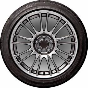 Чехол запасного колеса Колесо Skyway, R15, диаметр 67см, экокожа (полиэстер) Ош