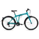 """Велосипед 26"""" Forward Tracer 1.0, 2018, цвет бирюзовый матовый, размер 17"""""""