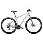 """Велосипед 29"""" Forward Sporting 2.0 disc, 2019, цвет серый, размер 17"""""""