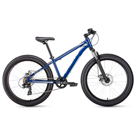 Велосипед 24' Forward Bizon mini, 2019, цвет синий, размер 13' Ош