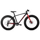 """Велосипед 26"""" Forward BIZON 26, 2019, цвет чёрный/красный, размер 18"""""""