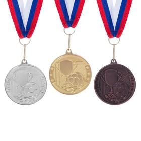 Медаль тематическая 176 'Футбол' бронза Ош