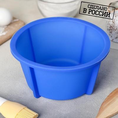 Форма для выпечки «Кекс», 17,8×9 см, цвет МИКС - Фото 1