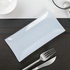 Блюдо «Гладкое», 19×9 см, цвет белый - Фото 2
