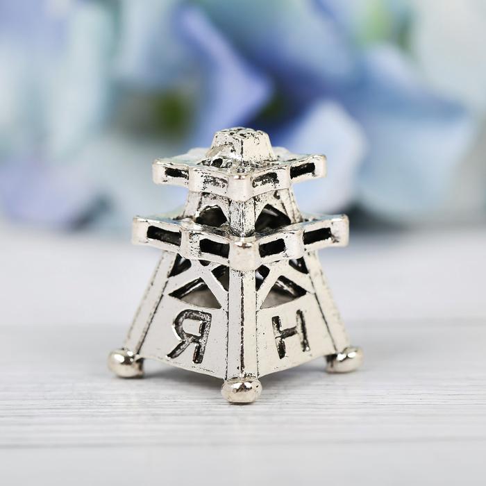 Напёрсток сувенирный ЯНАО, серебро