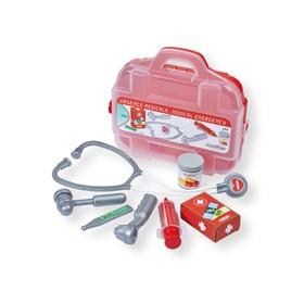 Игровой набор доктора, в чемоданчике, 7 предметов