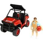 Игрушка PlayLife «Квадроцикл паркового рейнджера», с фигуркой и аксессуарами - Фото 1