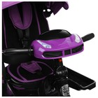 """Велосипед трёхколёсный Micio Comfort Plus, надувные колёса 12""""/10"""", цвет сиреневый - Фото 10"""