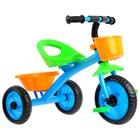 Велосипед трёхколёсный Micio Antic, цвет синий/жёлтый/зелёный - Фото 2