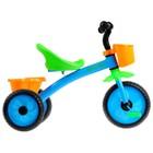 Велосипед трёхколёсный Micio Antic, цвет синий/жёлтый/зелёный - Фото 3