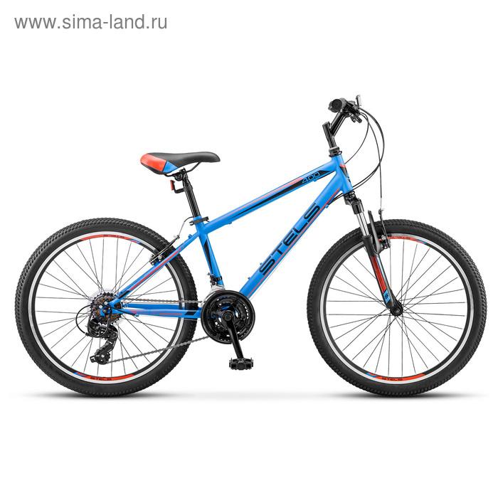 """Велосипед 24"""" Stels Navigator-400 V, V040, цвет темно-синий/красный, размер 12"""""""