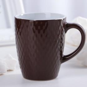 Кружка Доляна «Лилу», 190 мл, цвет коричневый