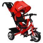 """Велосипед трёхколёсный Micio Classic, колёса EVA 10""""/8"""", цвет красный - Фото 1"""