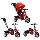 """Велосипед трёхколёсный Micio Classic, колёса EVA 10""""/8"""", цвет красный - Фото 2"""