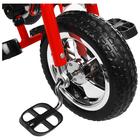 """Велосипед трёхколёсный Micio Classic, колёса EVA 10""""/8"""", цвет красный - Фото 6"""