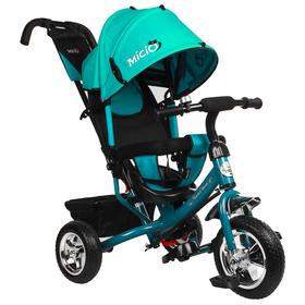 Велосипед трёхколёсный Micio Classic, колёса EVA 10'/8', цвет бирюзовый Ош