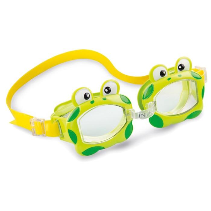 Очки для плавания FUN, от 3-8 лет, цвета МИКС, 55603 INTEX