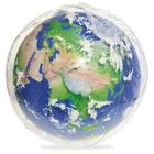Мяч пляжный «Земля», d=61 см, с подсветкой, от 2 лет, 31045 Bestway