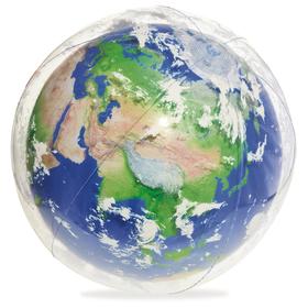 Мяч пляжный «Земля», d=61 см, с подсветкой, от 2 лет, 31045 Bestway Ош