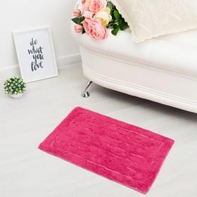 Ковер «ГАММА», 40х60 ± 3 см, цвет розовый. Ош