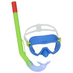 Набор для плавания Essential Lil' Glider, маска, трубка, от 3 лет, цвета МИКС, 24036 Bestway Ош