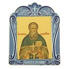 Икона Иоанна Кронштадтского в киоте