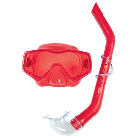 Набор для плавания Aqua Prime, маска, трубка, от 14 лет, цвета МИКС, 24037 Bestway Ош
