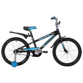 """Велосипед 20"""" Novatrack Dodger, 2019, цвет чёрный"""
