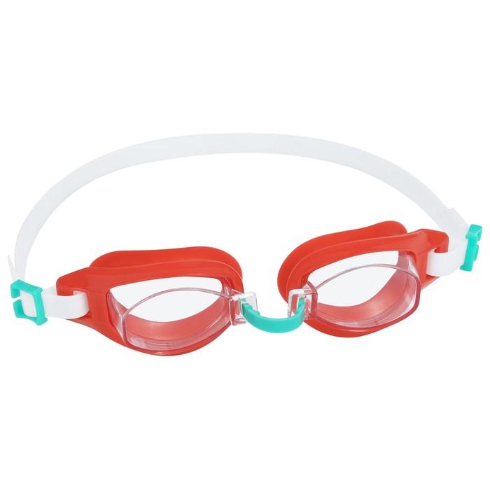 Очки для плавания Wave Crest, от 7 лет, цвета МИКС, 21049 Bestway