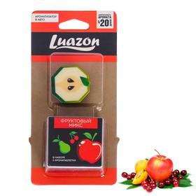 Ароматизатор в дефлектор 'Яблоко', фруктовый микс 2 таблетки Ош