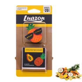 Ароматизатор в дефлектор «Яркий, сочный» ананас, 2 таблетки Ош