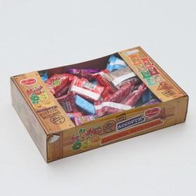 """Пастила """"Ассорти"""" яблоко, груша, вишня, дыня, апельсин, барбарис, 800 г"""