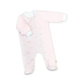 Комбинезон для новорождённого «Мармеладик», рост 68 см, цвет розовый