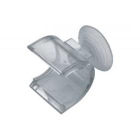 Держатель R-19А для стекла с присоской, пластмассовый Ош