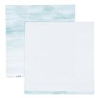 Бумага для скрапбукинга Heidi Swapp - Коллекция «PINEAPPLE CRUSH» - Лист «BREEZY»