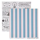 Бумага для скрапбукинга Crate Paper - Коллекция «CAROUSEL» - Лист «EXHIBITS»