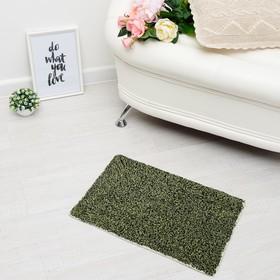 Ковер «СОНАТА», 40х60 ± 3 см, цвет зеленый. Ош