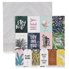 Бумага для скрапбукинга Crate Paper - Коллекция «Wild heart» - лист «Wildly»
