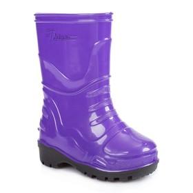Сапоги детские, цвет фиолетовый, размер 34 (21,7 см Ош