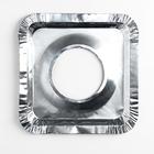 Набор пластин для защиты газовой плиты, 21,5×21,5 см, 5 шт - Фото 2