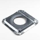 Набор пластин для защиты газовой плиты, 21,5×21,5 см, 5 шт - Фото 3