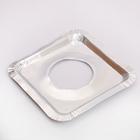 Набор пластин для защиты газовой плиты, 21,5×21,5 см, 5 шт - Фото 4