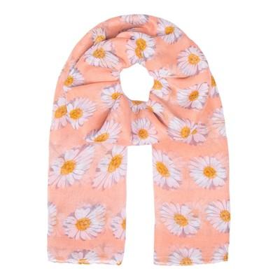 Палантин женский PP1619_194-5 цвет розовый, р-р 90х180