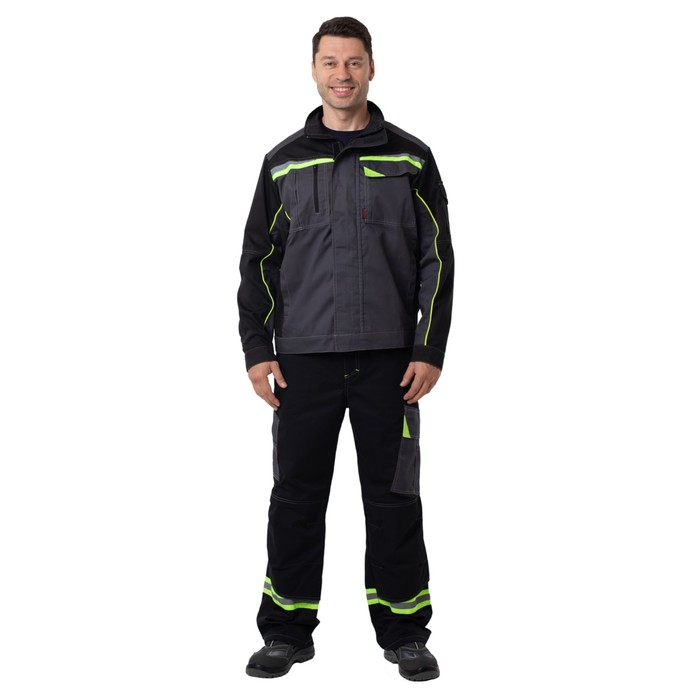 Kуртка GREY с СОП, размер 60-62/170-176
