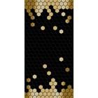 """Декор """"Портобелло"""", черный 10-04-04-1075-3 500х250"""
