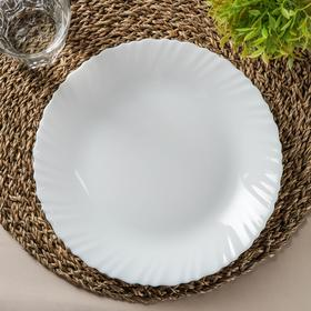 Тарелка обеденная (подставная) Feston, d=25 см