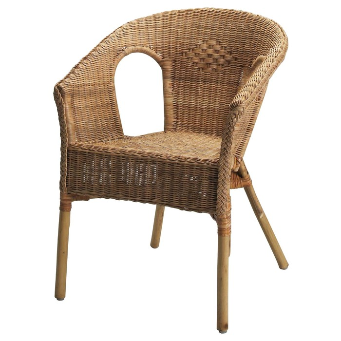 Кресло АГЕН, ротанг, бамбук